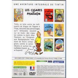 Les Cigares du Pharaon ( Tintin ) - Bande dessinée de Hergé + DVD