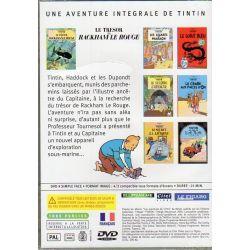 Le Trésor de Rackham le Rouge ( Tintin ) - Bande dessinée de Hergé + DVD