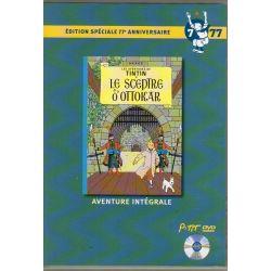 Le Sceptre d'Ottokar ( Tintin ) - Bande dessinée de Hergé + DVD