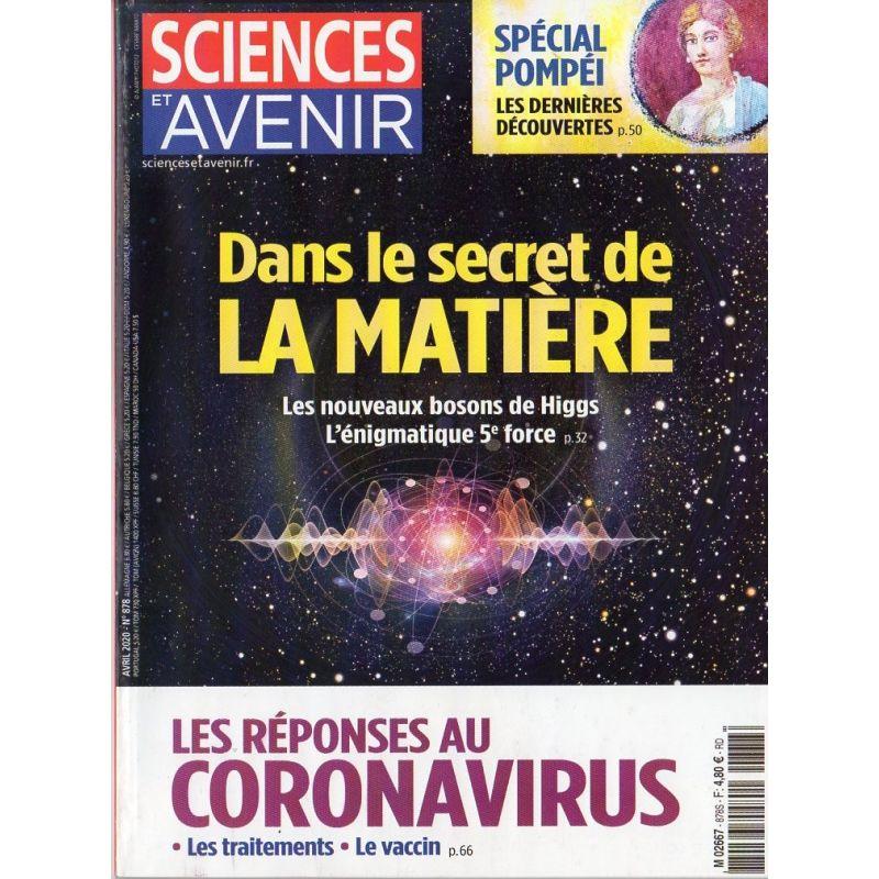 Sciences et Avenir n° 878 - Dans le secret de la Matière