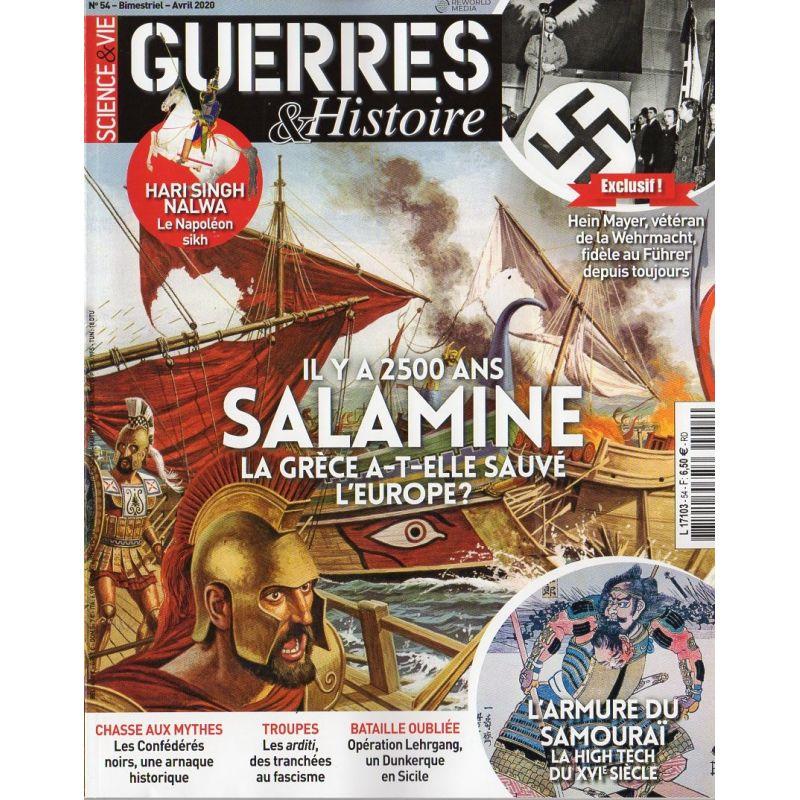 Guerres & Histoire n° 54 - Salamine il y a 2500 ans, La Grèce a-t-elle sauvé l'Europe ?