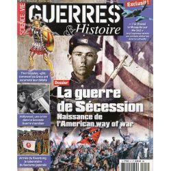 Guerres & Histoire n° 17 - la Guerre de Sécession, Naissance de l'American way of war