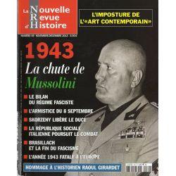 NRH n° 69 - 1943, la chute de Mussolini