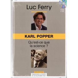 Karl Popper - Qu'est ce que la science ? (de Luc Ferry) - Livre + CD (Philosophie)