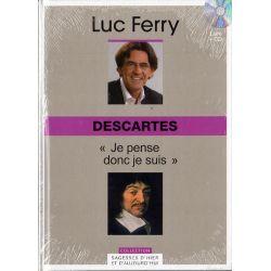 Descartes : Je pense donc je suis (de Luc Ferry) - Livre + CD (Philosophie)