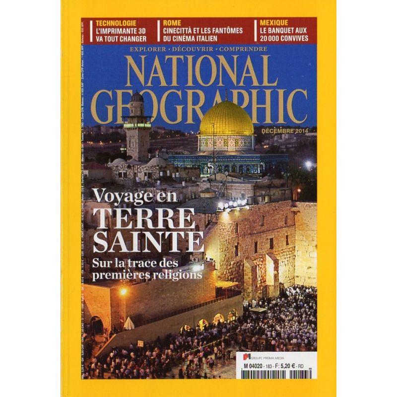 National Geographic n° 183 - Voyage en Terre Sainte : sur la trace des premières religions