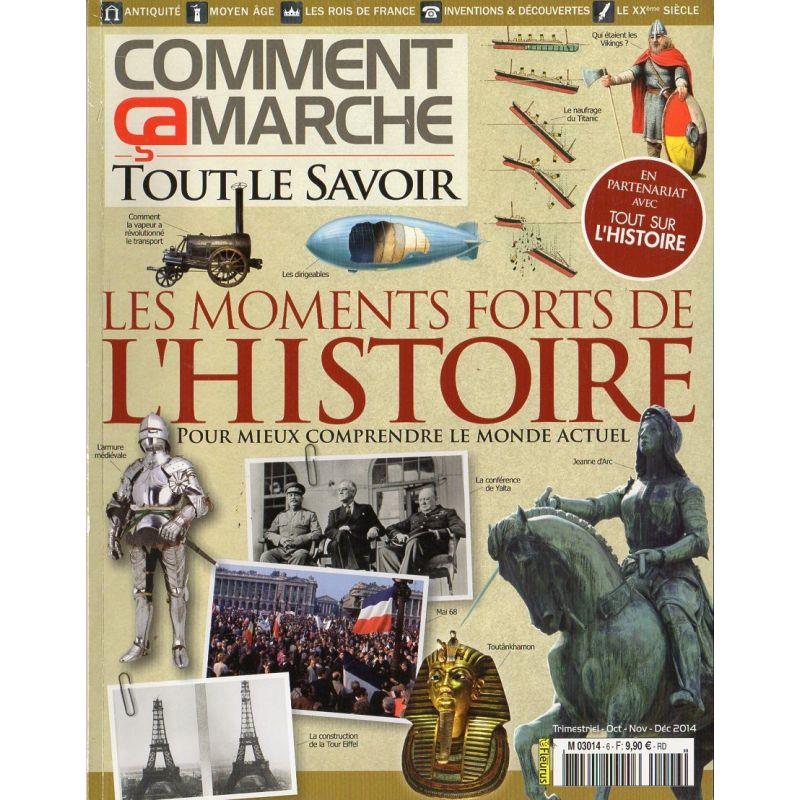 Comment Ça Marche CCM n° 6 - Les moments forts de l'Histoire