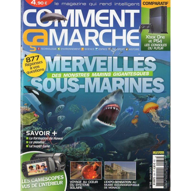 Comment Ça Marche CCM n° 38H - Merveilles sous-marines