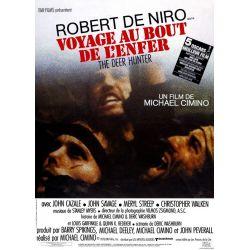 Voyage au bout de l'enfer (de Michael Cimino) affiche du film
