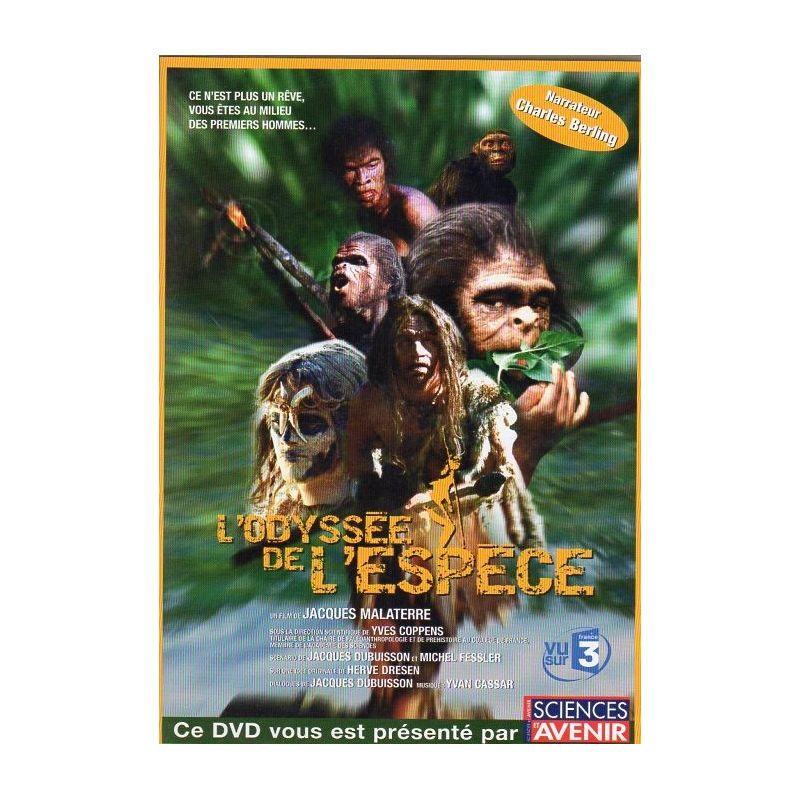 L'Odyssée de l'espèce (de Jacques Malaterre) - DVD Zone 2