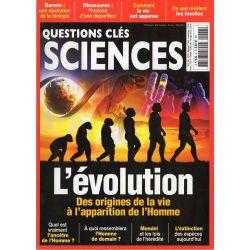 Questions clés Science n° 6 - L'Évolution, des origines de la vie à l'apparition de l'Homme