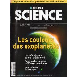 Pour la Science n° 438 - Les Couleurs des Exoplanètes