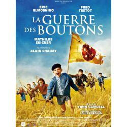 La Guerre des Boutons (de Yann Samuell) affiche du film