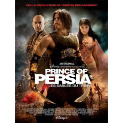 Prince of Persia : Les sables du temps (Disney) affiche du film