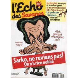 L'Echo des savanes n° 324 - Sarko, ne reviens pas ! On n'a rien oublié