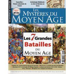 Les Mystères du Moyen Age n° 20 - Les 7 Grandes Batailles du Moyen Age