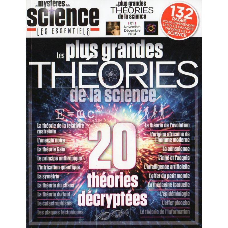 Les Mystères de la Science n° 1 - Les plus grandes Théories de la science