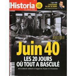 Historia n° 882 - Juin 1940, les 20 jours où tout à basculé