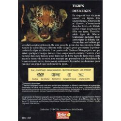 Tigres des neiges - National Geographic - DVD Zone 2