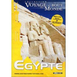 Voyage au Bout du Monde : Egypte - CD + DVD Zone 2