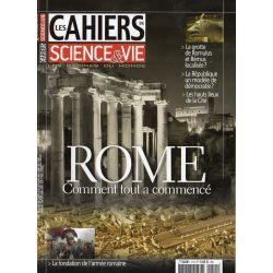Les Cahiers de Science & Vie n° 115 - ROME - Comment tout a commençé