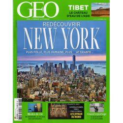 GEO n° 417S - Redécouvrir New York + Guide
