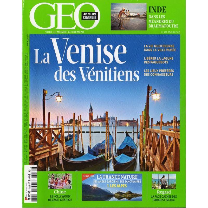 GEO n° 432S - La Venise des Vénitiens + Guide