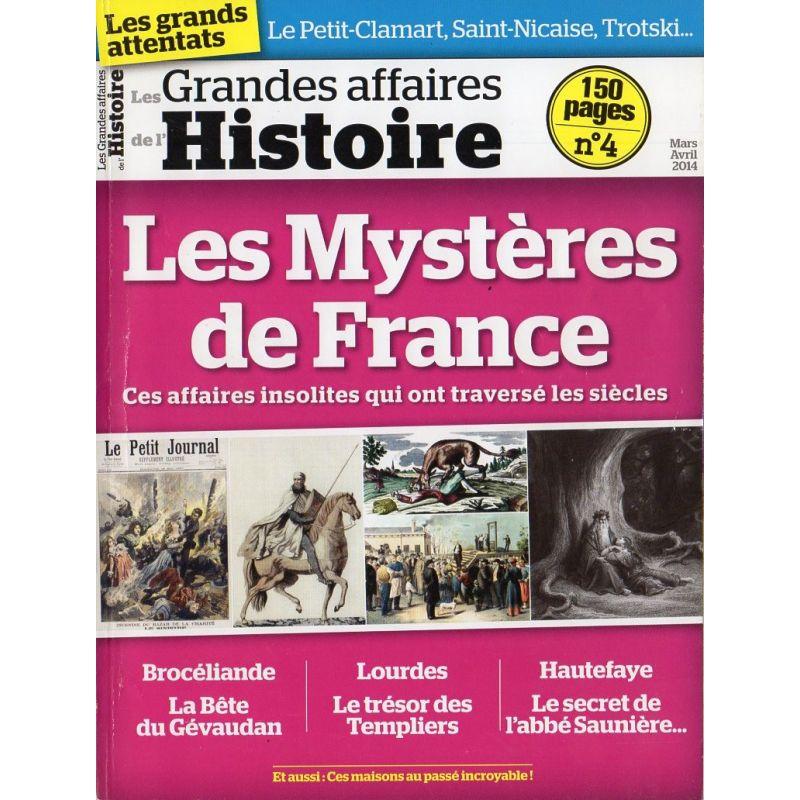 Les Grandes Affaires de l'Histoire n° 4 - Les Mystères de France
