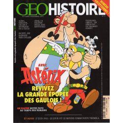 GEO Histoire n° 11 - Astérix, revivez la grande épopée des gaulois !
