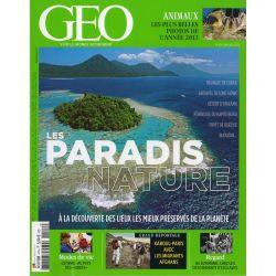 GEO n° 419 - Les paradis nature