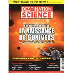 Destination Science n° 13 - La Naissance de l'Univers