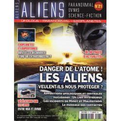 Aliens n° 21 - Danger de l'atome, les Aliens veulent-ils nous protéger ?