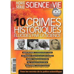 Science & Vie Hors série n° 263 H - 10 crimes historiques élucidés par la science