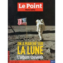 Le Point Hors-série n° 2 H - 21 juillet 1969 - On a marché sur la Lune, album souvenir
