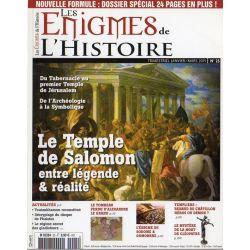 Les Énigmes de l'Histoire n° 25 - Le Temple de Salomon, entre légende & réalités
