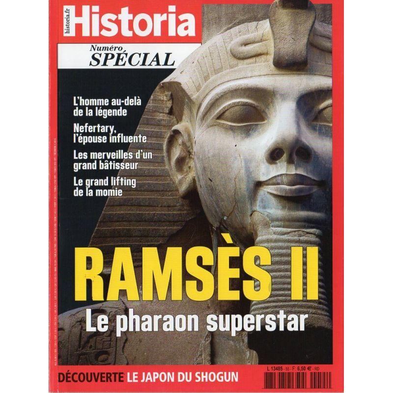 Historia Spécial n° 55 - Ramsès II, le pharaon superstar