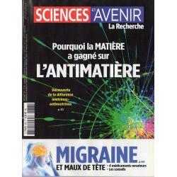 Sciences et Avenir n° 883 - Pourquoi la MATIÈRE a gagné sur l'ANTIMATIERE