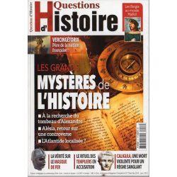 Questions d'Histoire n° 17 - Les Grandes mystères de l'Histoire