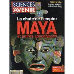 Sciences et Avenir n° 719 - La chute de l'empire MAYA et autres apocalypses