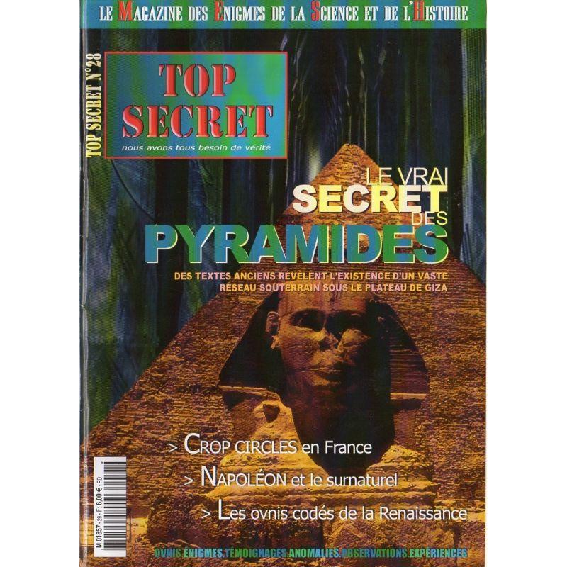 Top Secret n° 28 - Le vrai secret des Pyramides