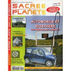Sacrée Planète n° 12 - Automobile et biosphère