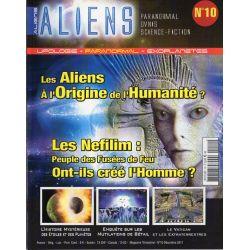 Aliens n° 10 - Les aliens à l'origine de l'Humanité ?