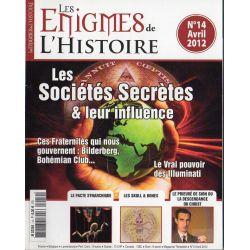 Les Énigmes de l'Histoire n° 14 - Les Sociétés Secrètes & leur influence