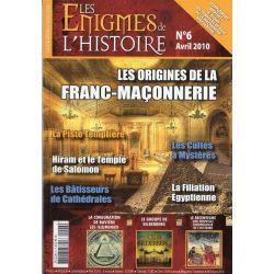 Les Énigmes de l'Histoire n° 6 - Les origines de la franc-maçonnerie
