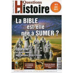 Questions d'Histoire n° 8 - La Bible est-elle née à Sumer ?