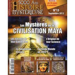 5000 ans d'histoire mystérieuse n° 15 - Les Mystères de la Civilisation Maya