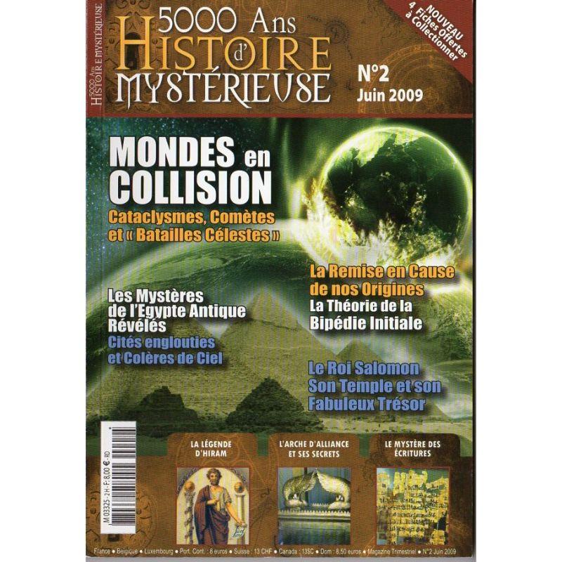 5000 ans d'histoire mystérieuse n° 2 - Mondes en Collision