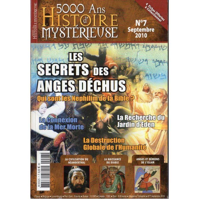 5000 ans d'histoire mystérieuse n° 7 - Les Secrets des Anges déchus