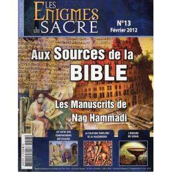 Les Énigmes du Sacré n° 13 - Aux Sources de la Bible