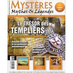 Mystères, Mythes & Légendes n° 7 - Le Trésor des Templiers, toutes les pistes et hypothèses